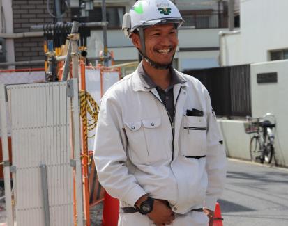 自分たちの仕事が日本全国に役立っていることを実感。